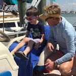 Capt. Kelly with our grandson