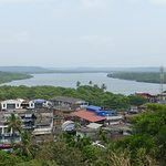 A view of the township from Madayipara