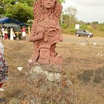 Clay Sculpture in Madayipara