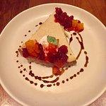 mascarpone & almond tart