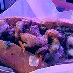 Shrimp Po Boy $13. Delicious!!!!