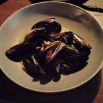 Delicious Mussels (the broth hadn't been poured over them yet as we shared)