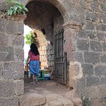 Entrance of Chapora Fort!