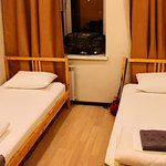 shared room, hey it is a budget hostel!!
