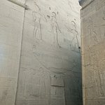 hieroglyphic / pictographic reliefs even on walls of Temple of Isis at Philae. Some of them are in very good condition..