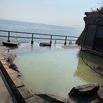 鹿児島シーサイドホテルに行ってきました。 目の前に海が広がる絶景の露天風呂!