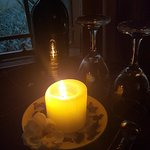 Romantic Candle light dinners. Served in the private romantic honeymoon suite.