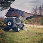 IKamper roof tent with optional awning