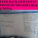 FEED BACK FROM OUR GUEST