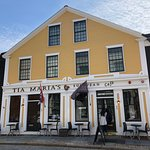 Tia Maria's is on a small downtown street in beautiful and historic New Bedford.
