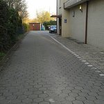 hof eigener parkplatz