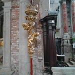 Inside the Chiesa di Sant'Eufemia