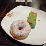 Donut en cake