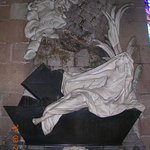 Memorial sculpture dedicated to Mary Myddelton (1688-1747)