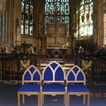 The Chancel inside St. Giles Church (Wrexham)