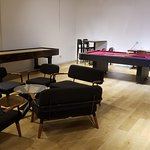 Side recreation room - nobody on Friday night 8pm