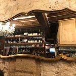 Le haut du bar