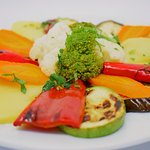 Barbeque vegetable