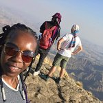Taking in the Simien Highlands Beauty...