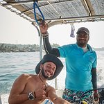 Our instructor and boat captain
