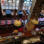 Interior Es Llogaret bar restaurant