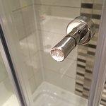 Shower door requiring a repair!