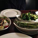 grilled vegetables plate: nicely grilled