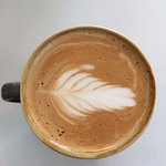 Oat milk flat white