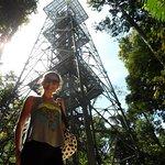 A torre vista de baixo