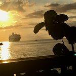 Sunset from Da Fish Shack