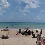 Vista para a praia de Cabedelo