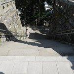 神社参道(上から)