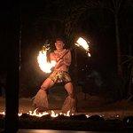Saletoga Sands - around the resort -Wednesday Fia Fia night