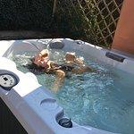 Jacuzzi warm pool.