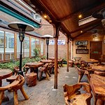 Heated Beer Garden   With many hidden alcoves, you can enjoy a quiet point or join in with the live entertainment. Mother Reilly's is the perfect place to watch the match on one of our many TV screens inside the bar our outside in the heated beer garden. You can play darts or pool too if you're game!
