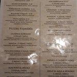 Cardápio Prima Pizza!