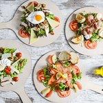 Des salades fraîches et de saisons
