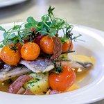 Zanderfilet, Fischgericht