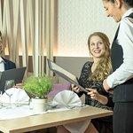 hoteleigenes Restaurant Feuergott