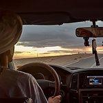 de camino al Sahara