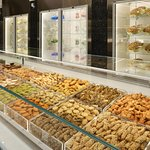 A Large Variety of Savory Cookies, Petit Fours, Chocolates, Nougats & Sugar Coated Almonds.