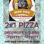 Foto de Mad Dog Pizzeria & Restaurante