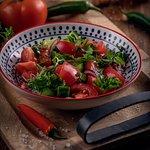 ქართული სალათი/Georgian Salad