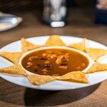 Sopa de Tortilla Mexicana Picante