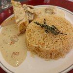 Suprême de Volaille et son riz pilaf