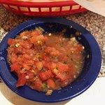 Very good salsa, with kick.