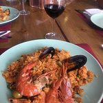 famous paella lunch