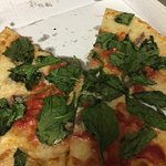 basil and anchovy - don't order this combo - looks great - that's it