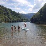 Paddle on Rausor River