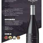 100% GRACIANO ORGANIC ONLY 5000 BOTTLES